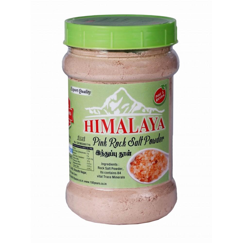 100 Years Brand - Original Himalaya Pink Salt Powder 750gms