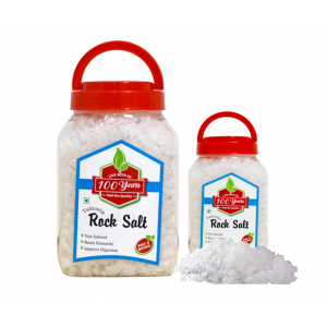 100 Years Brand - Non-Iodized Rock Salt 850gm